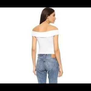 de7a7eb0b0a7a Splendid Tops - Splendid Women s Off Shoulder Top White